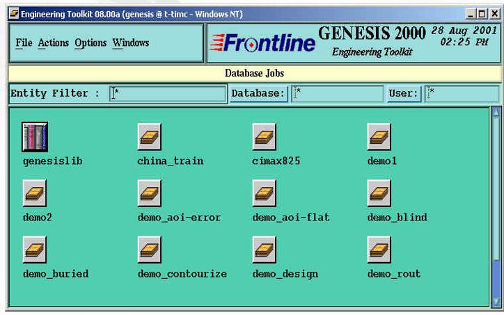 Genesis 2000软件的操作教程资料合集