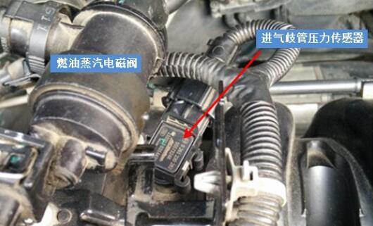 进气压力传感器安装在哪里