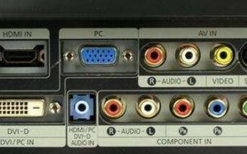 液晶電視的常見接口