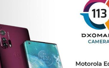 DXO公布Motorola Edge+拍照得分,相机调教方面还需要继续努力