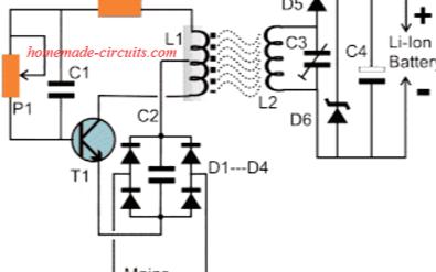 無線充電的電路圖展示及其工作原理分析