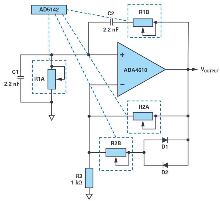 如何使用數字電位器構建可編程振蕩器