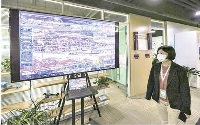 高新企業AI體驗館匯集了各行業領域大數據的前沿應用
