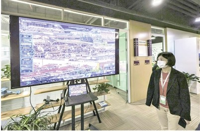 高新企业AI体验馆汇集了各行业领域大数据的前沿应用