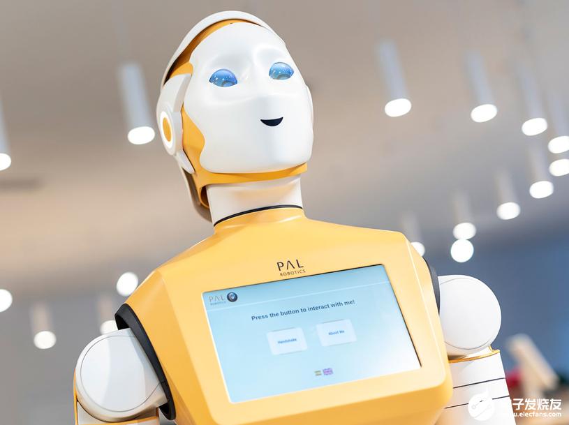 PAL可定制机器人可能成为一线工作者