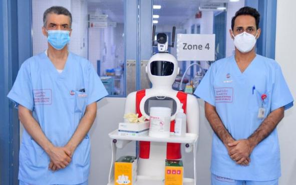 医疗机器人降低医护人员感染风险