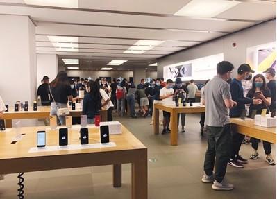 iPhone在天猫的成交额超过5亿元,创有史以来最快纪录