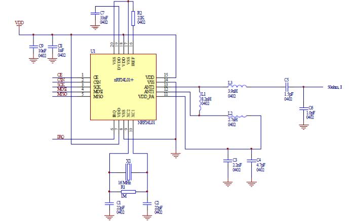 STM32程序移植的NRF24L01模块详细说明