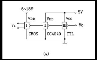 CMOS集成電路的接口電路詳細說明