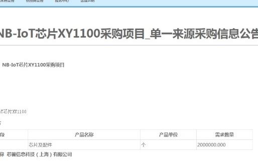 中國移動首次對芯片進行單一來源集采
