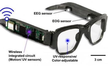 智能眼镜可以追踪大脑活动是真是假