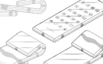 三星翻蓋式雙折疊屏專利披露,細長型設計具有兩條翻蓋式折疊線