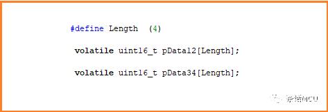 双ADC模块规则通道同时转换的应用介绍