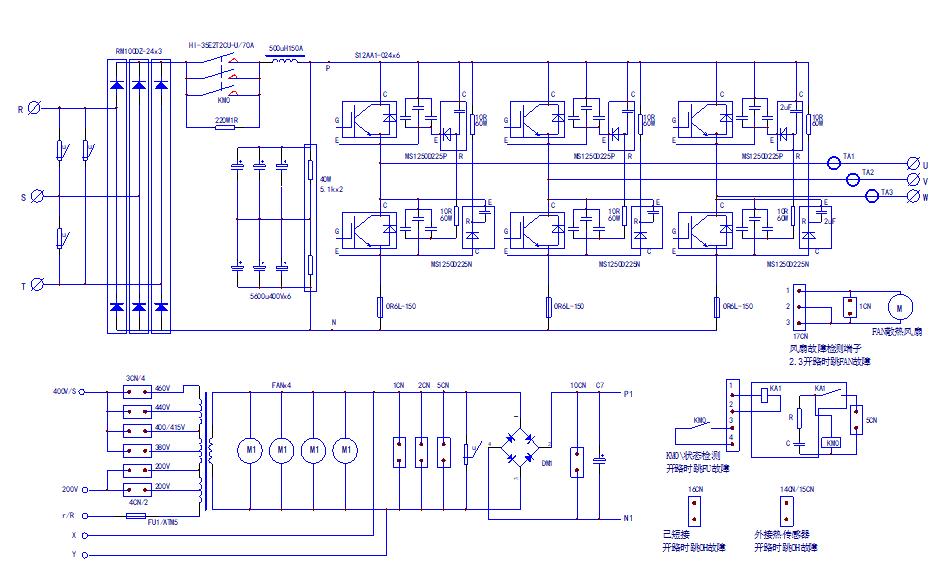 616G3安川變頻器的驅動電路原理圖免費下載