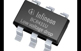 英飛凌推出BCR431U LED驅動IC為低電流LED燈條設計帶來更多自由度