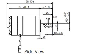 M3508直流无刷减速电机的使用说明资料免费下载