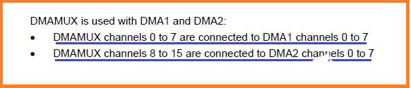 STM32F4系列的DMA请求与DMA传输通道的映射关系多了些选择性,灵活性