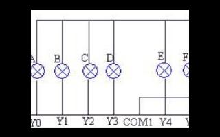 LED彩灯PLC编程接线及梯形图