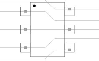 SLA3304DT6为LVDS信号提供静电保护,高温长线不丢包