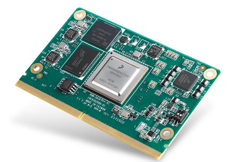 研華科技推出基于Arm? Cortex?-A35 NXP i.MX 8X應用處理器