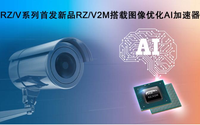 瑞萨电子RZ/V系列微处理器  搭载图像处理AI加速器,可实现低功耗和实时AI处理