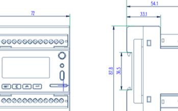 计量电表实现对不同区域和不同负荷的分项电能计量