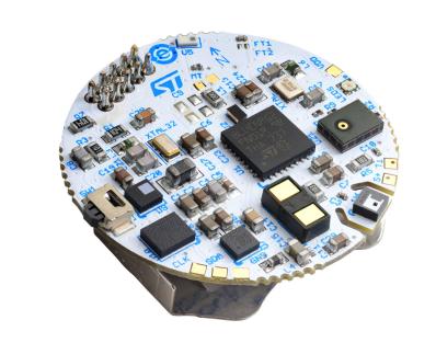 意法半导体推出一个尺寸紧凑、经济划算的穿戴设备参考设计