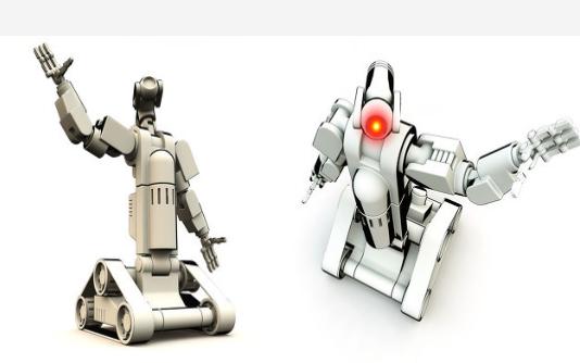 六足机器人三维模型和STM32F103控制代码免费下载