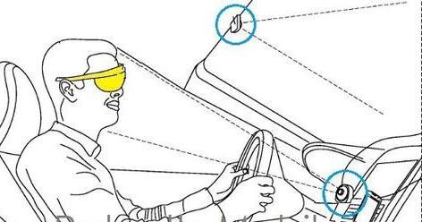 三星增强现实新专利_可搭配车辆使用AR眼镜导航应用