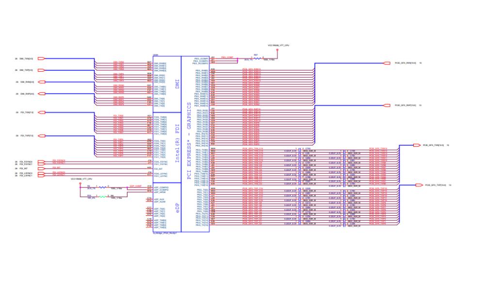 SWG SOVP联想笔记本的电路原理图免费下载