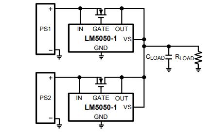LM5050高侧ORing FET控制器的数据手册免费下载