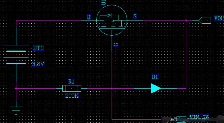 電子設計:雙電源自動切換電路