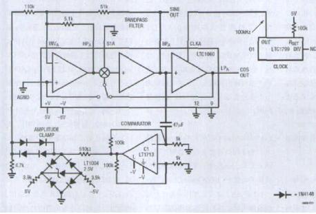 基于LTC1060开关电容滤波器在仪表中应用分析