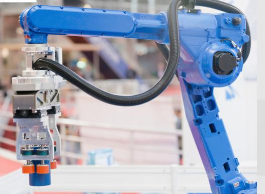 人工智能產品:機械臂,工業的衡器設備