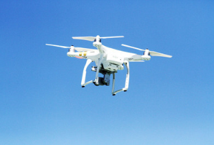 无人机物联网中继系统可用于采集偏远地区环境监测设备数据