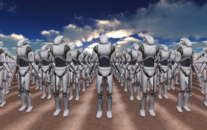 COVID-19推动世界走向机器人经济?