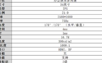 飞利浦342E2E显示器评测,采用IPS技术适合专业办公使用