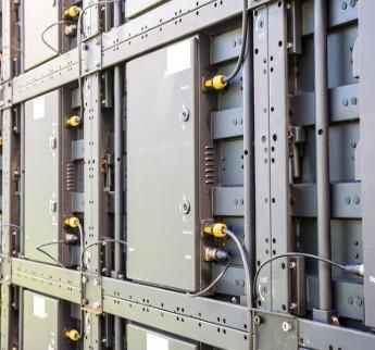 高端LED芯片等半導體研發生產項目的建設正在進行中