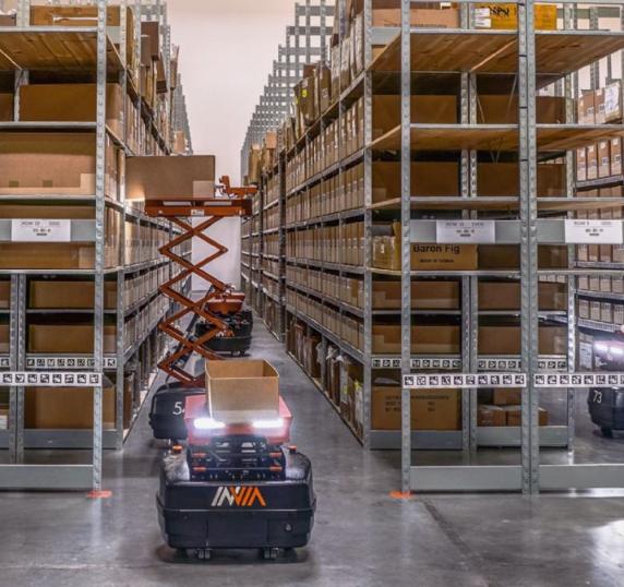 自主移動機器人支持交貨自動化 爆單也能輕松應對