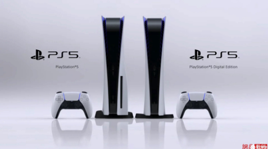 PS5外观设计正式公布:分普通版和纯数字版