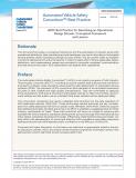 AVSC发布其第二份最佳实践《描述ODD(运行设计域)