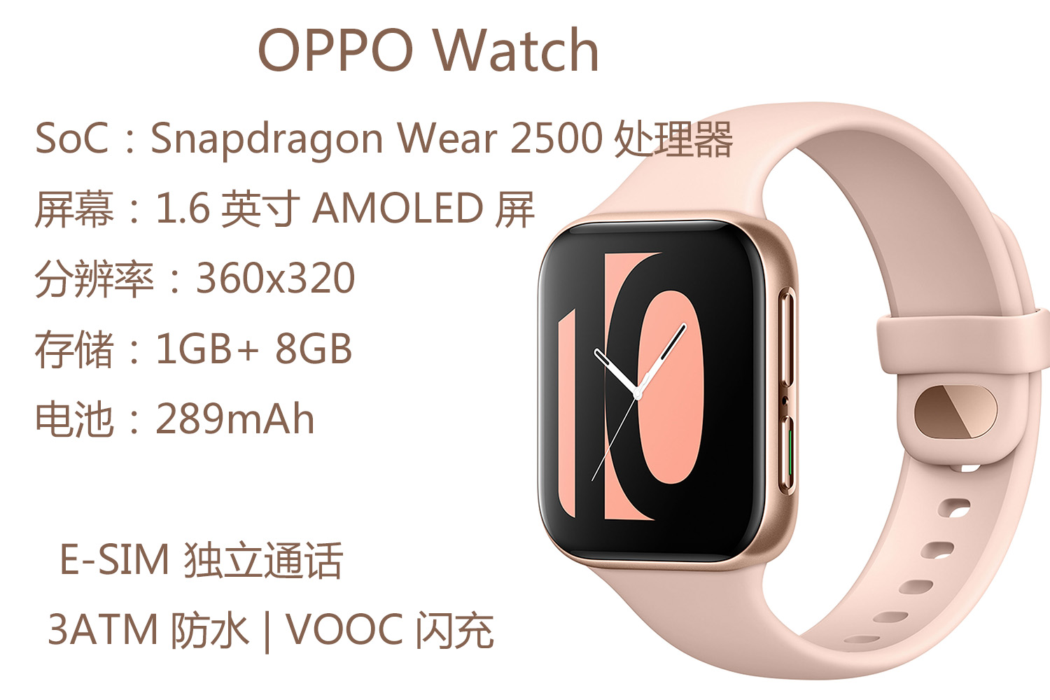 同被指与Apple Watch高度相似 OPPO Watch和小米手表又有何不同