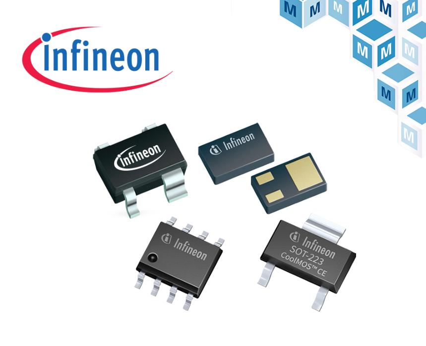 贸泽备货丰富多样的Infineon家电解决方案