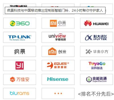 中国移动推出家庭安防解决方案,支持六大品类设备的...