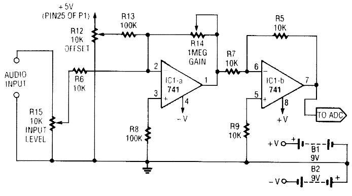 两款音频接口电路解析
