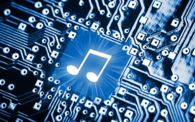 使用时基芯片NE555实现电子琴的电路图免费下载