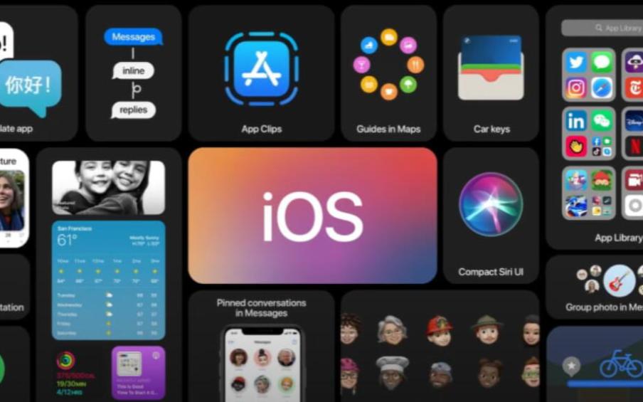 WWDC2020:苹果发布iOS14 宣布Mac采用自家芯片放弃英特尔芯片