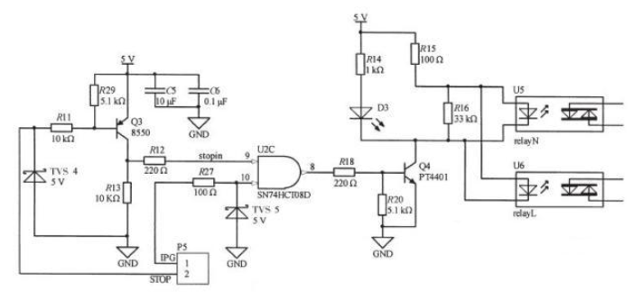基于STM32的2μm高功率激光醫療儀的系統電路和原理圖