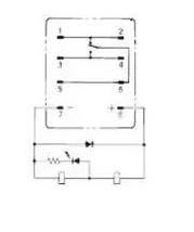 为什么续流二极管和继电器端子标注的相反?