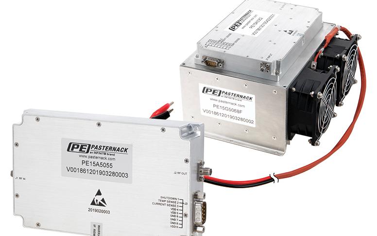 Pasternack推出高功率AB類放大器 多種型號覆蓋20MHz至18GHz的倍頻帶